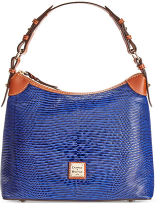 Dooney & Bourke Lizard-Embossed Hobo, A Macy's Exclusive Style $248 thestylecure.com
