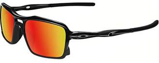 Oakley Men's (a) Triggerman OO9314-03 Non-Polarized Iridium Rectangular Sunglasses