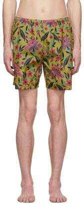 Prada Multicolor Fiore Swim Shorts