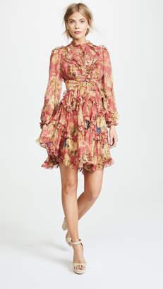 Zimmermann Melody Lace Up Dress