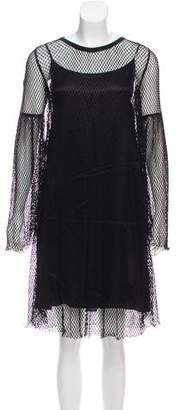 MM6 MAISON MARGIELA MM6 Maison Martin Margiela Mesh Bell Sleeve Dress w/ Tags