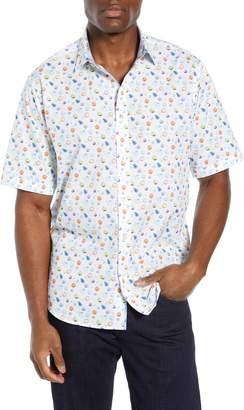 Bugatchi Classic Fit Fruit Print Sport Shirt