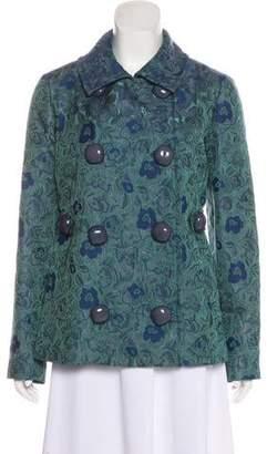 Anna Molinari Evening Floral Printed Jacket