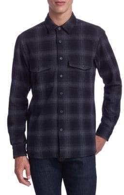 Marcelo Burlon County of Milan Plaid Button-Down Shirt