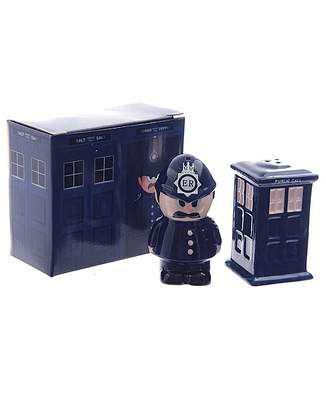 Laundry by Shelli Segal Police Box & Policeman Salt & Pepper Set