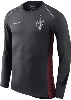 Nike Cleveland Cavaliers Hyper Elite Men's Long-Sleeve NBA Top