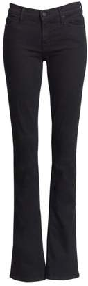Mother Runaway Mid-Rise Flare Jeans