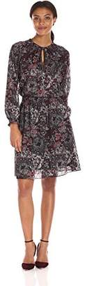 Jones New York Women's Bohemian Paisley Peasant Dress $94.90 thestylecure.com