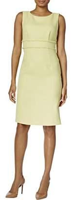 Kasper Women's Textured Sheath Dress with Waist Treatment (2)
