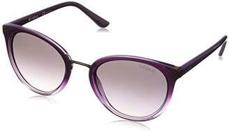 Vogue Women's 0vo5230s Non-Polarized Iridium Oval Sunglasses