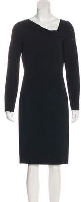 Roland Mouret Long Sleeve Knee-Length Dress w/ Tags