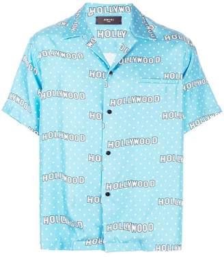 Amiri short sleeves button down shirt