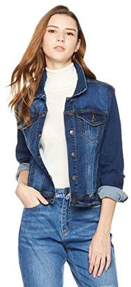 Parker Lily Women's Denim Stretch Classic Long Sleeves Jacket