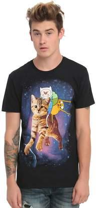 Finn Adventure Time Jake Space Cat T-Shirt