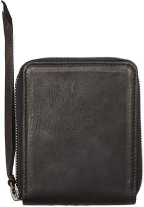 The Viridi-anne Black Zip Around Wallet