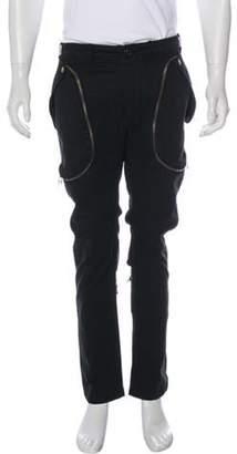 Faith Connexion Zip Cargo Pants black Zip Cargo Pants