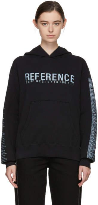 Black reference 3.0 Hoodie