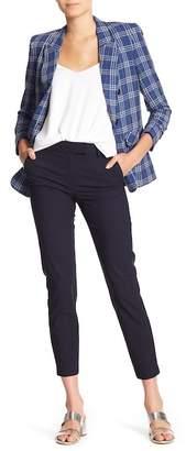 Veronica Beard Tapered Wool Blend Pants