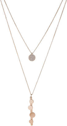 Panacea Pannee By Gold-Tone Layered Chain Necklace