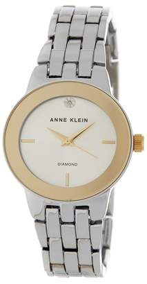 Anne Klein Women's Diamond Dial Bracelet Watch, 30mm - 0.005 ctw