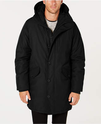 Michael Kors Men's Modern-Fit Hooded All Weather Anorak Raincoat