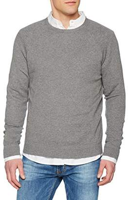 Benetton Men's Sweater L/s Sweatshirt,(Size: EL)