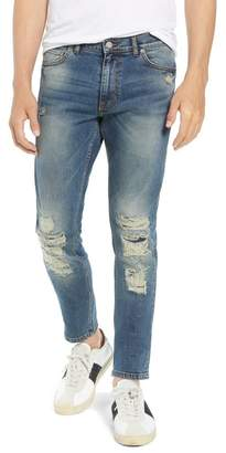 Denim & Supply Ralph Lauren Dr. Denim Supply Co Clark Slim Straight Leg Jeans (Black Vintage)