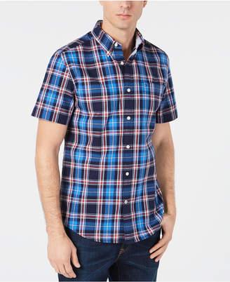 Tommy Hilfiger Men's Orser Madras Plaid Shirt