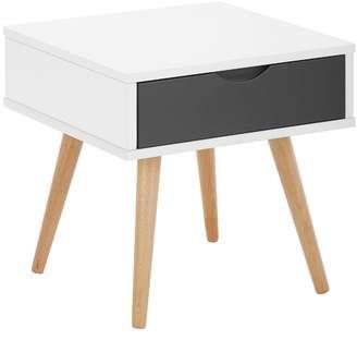 Scandinavian Vasby 1 Drawer Bedside Table