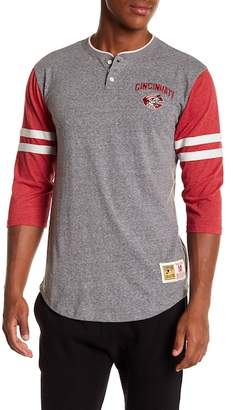 Mitchell & Ness Home Stretch Cincinnati Red Henley