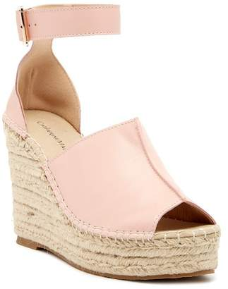 Catherine Malandrino Chingies Platform Wedge Espadrille
