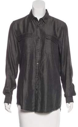Each X Other Long Sleeve Button-Up Top