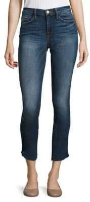 Peserico Le Skinny De Jeanne Cropped Tulip Hem Skinny Jeans