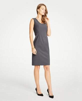 Ann Taylor Tropical Wool U-Neck Sheath Dress