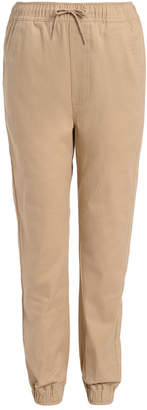 Nautica (ノーティカ) - Nautica Big Boys Evan Tapered-Fit Stretch Joggers with Reinforced Knees