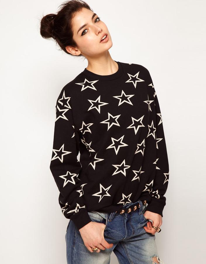 Illustrated People Stars Sweatshirt