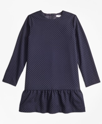 Brooks Brothers Girls Polka Dot Dress