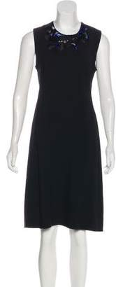 3.1 Phillip Lim Embellished Silk-Accented Dress