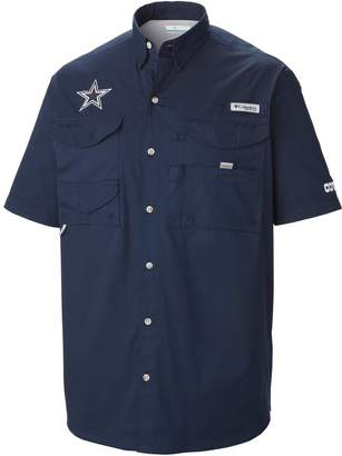 Columbia Men's Dallas Cowboys Bonehead Fishing Shirt
