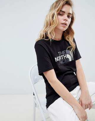The North Face Easy T-Shirt In Black