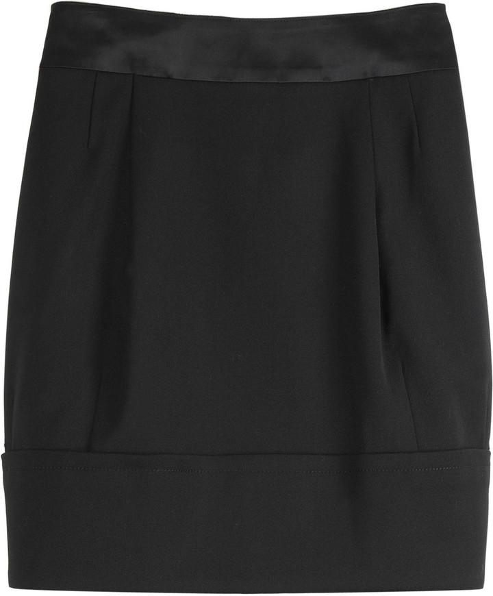 Hanii Y Tulip hem mini skirt