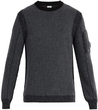 C.P. Company Crew-neck wool-blend sweater
