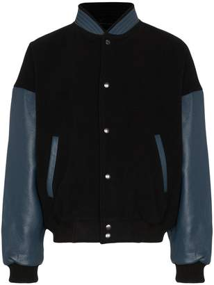 Willy Chavarria Dugout Bomber Jacket