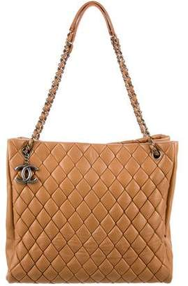 Chanel Bubble Quilt N/S Tote