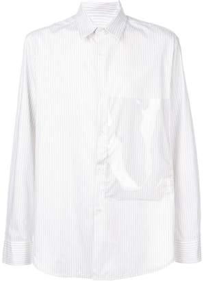 Raf Simons oversized-pocket shirt