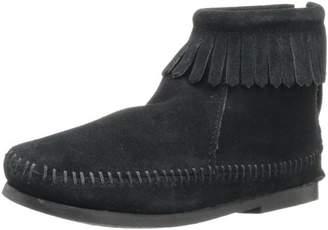 Minnetonka Back Zip Boot (Toddler/Little Kid/Big Kid)