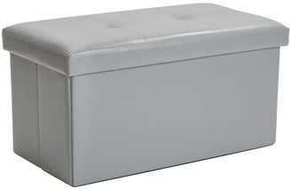 Simplify Large Collapsible Folding Storage Ottoman