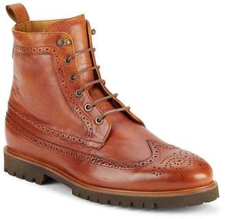 Vince Camuto Men's High-Top Leather Boots
