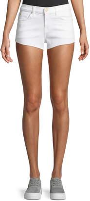 7 For All Mankind Cutoff Denim Shorts, White
