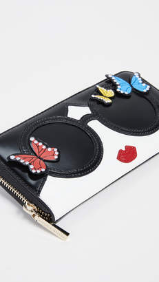 Alice + Olivia Candice Staceface Wallet